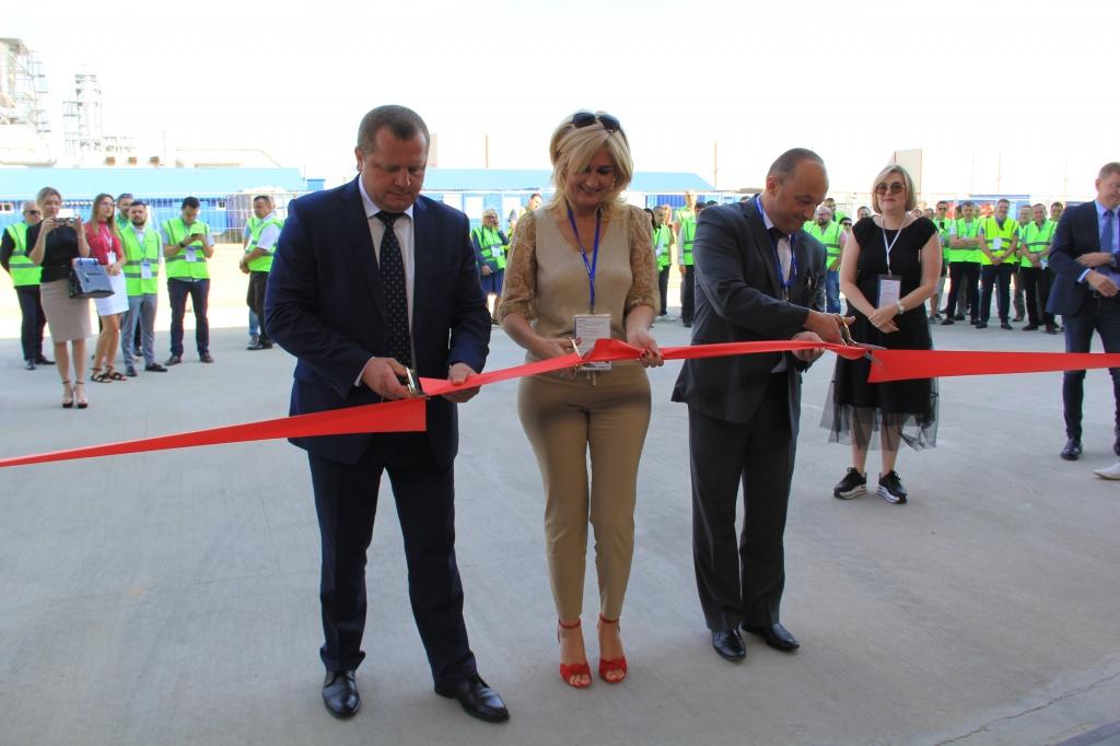 В Сморгони открыли завод по производству хвойной фанеры