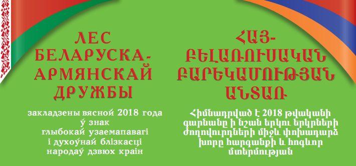 Белорусско-армянский лес дружбы