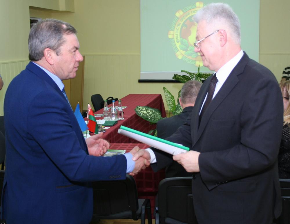 Беларусь и Украина подписали соглашение